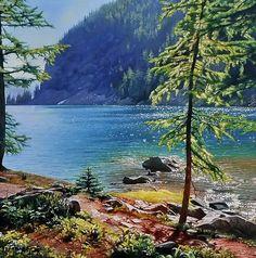 пейзажи художника Richard Mravik - 15