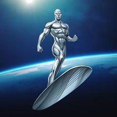 Defenders Marvel, Mcu Marvel, Marvel Comic Books, Comic Book Heroes, Fantastic Four Marvel, Brown Art, Silver Surfer, Cosmic, Art Reference