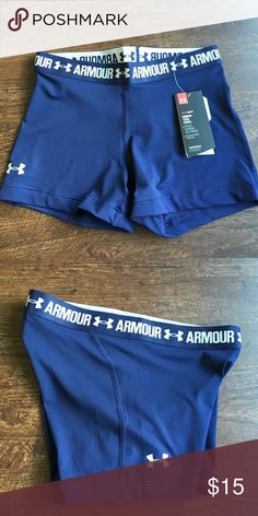 BRAND NEW Armour short blue/gray BRAND NEW Armour short blue/gray Under Armour Shorts