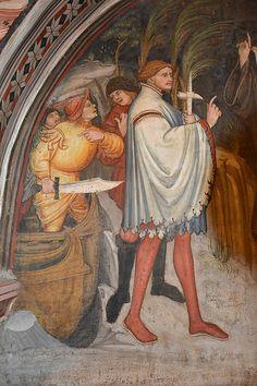 DSC_0241 | da Andrea Carloni (Rimini) Medieval Weapons, Medieval Art, Renaissance Art, Fresco, Late Middle Ages, Star Of Bethlehem, Historical Art, Effigy, 2d Art
