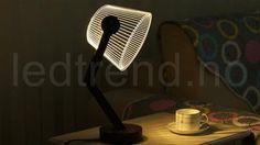 3D Lampe med LED lys - LEDtrend.no - 17  Unik 3D lampe med LED-lys som gir det lille ekstra til hjemmet ditt. 3D lampen vil tiltrekke seg alles øyner når folk kommer på besøk til deg, ingen har sett en slik illusjon som dette før. Table Lamp, Led, Home Decor, Table Lamps, Decoration Home, Room Decor, Home Interior Design, Lamp Table, Home Decoration