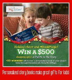 put me in the story personalized books make wonderful holiday gifts.