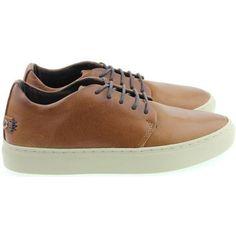 voordelige Satorisan heren sneakers heren sneakers (Bruin)