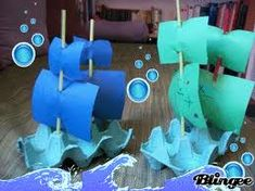 The best way to learn history is to get hands on! This easy egg carton Mayflower boat craft is simple enough for little kids, and fits mini dolls too. Boat Crafts, Pirate Crafts, Summer Crafts, Craft Activities For Kids, Preschool Activities, Diy For Kids, Crafts For Kids, Toddler Crafts, Egg Carton Crafts