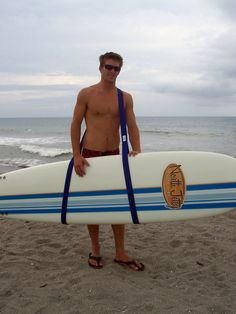The Surfboard Sling is your personal surfboard by SurfboardSlings