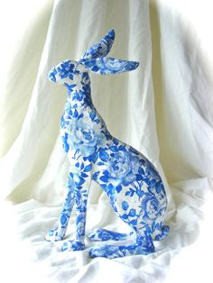 Hare sculpture by SuzieEmeryArt on Etsy