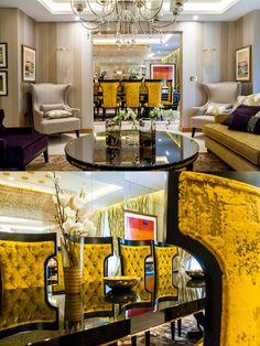 Luxury Dining room - Living room details in Hanover house - London | SISSY FEIDA INTERIORS