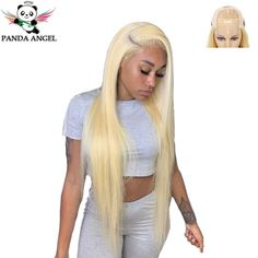(Ad) Blonde 613 Brazilian Lace Front Wig Human Hair Wigs for black women Pre Plucked Brazilian Lace Front Wigs, Curly Lace Front Wigs, Lace Wigs, Lace Hairpiece, Wigs For Black Women, Long Curly, Lace Closure, Human Hair Wigs, Wig Hairstyles