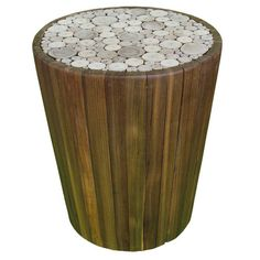 I pinned this Chris Bruning End Table from the Garrison Hullinger Interior Design event at Joss and Main!