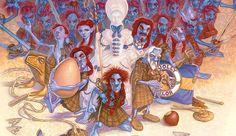 Debolsillo reeditará 'Los pequeños hombres libres' de Terry Pratchett.