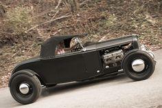 Black Roadster.