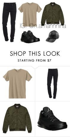 """come and see me"" by ninahjazmi on Polyvore featuring Hanes, True Religion, NIKE, Yestadt Millinery, men's fashion, menswear and casualoutfit"