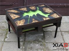 Toxic Coffee Table by XIAOdezign on Etsy