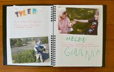 Family Journal For Kids from The Pleasantest Thing
