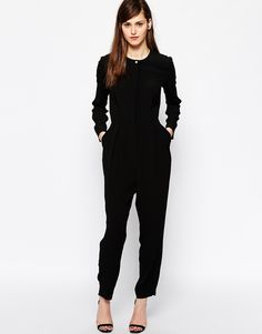 French Connection Jumpsuit in Emeline Crepe
