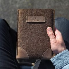 iPad Air/mini Retina Wool & Leather Sleeve by Cocones - $46