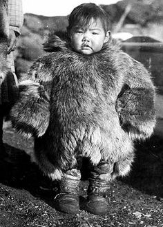 Inupiat boy - no date — with Wayne Drake