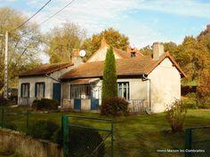 Goed onderhouden huis. Terrein met fruitbomen en een beekje. Saint-Éloy-les- Mines, Puy de Dôme€93000