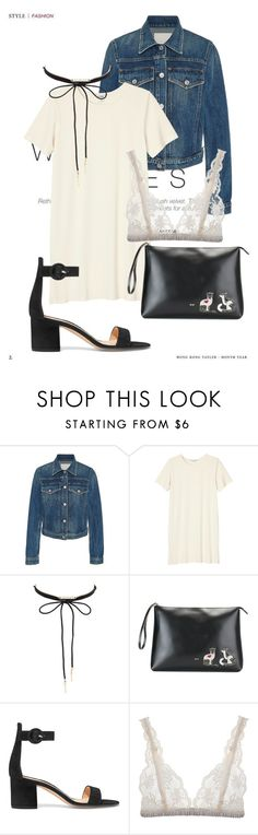 """""""When I mean it, I will say it out loud"""" by agnesegundega on Polyvore featuring Citizens of Humanity, Monki, Charlotte Russe, N°21, Gianvito Rossi and Lonely"""