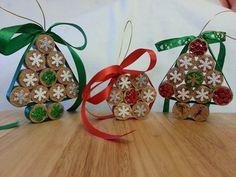 Decorações para Árvore de Natal com rolhas de cortiça (Christmas Tree Decorations - Wine Corks)