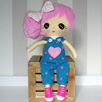Handmade fabric dolls,baby first doll, textile doll, cute dolls, soft dolls, hand made rag dolls, plush dill, softie, dolls with removable cloths, dolls made to order, dress up dolls,https://www.facebook.com/mnichovickepanenky/cz