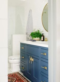 Create a nautical vibe with boat cleats as drawer pulls, cabinet handles, hooks, and more! Boat cleat hardware ideas featured on Completely Coastal. Shop the Look! Coastal Bathroom Decor, Redo Bathroom, Beach House Bathroom, Vanity Bathroom, Master Bathroom, Bathroom Ideas, Coastal Cottage, Coastal Living, Boat Cleats