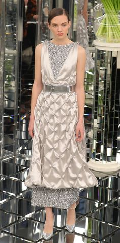 See the Looks from the Chanel Haute Couture Spring 2017 Show | InStyle.com