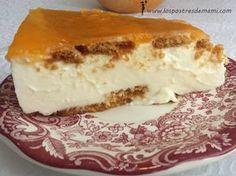 Tarta de queso Philadelphia y nata