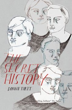 Lizzy Stewart imagined cover for The Secret History by Donna Tartt