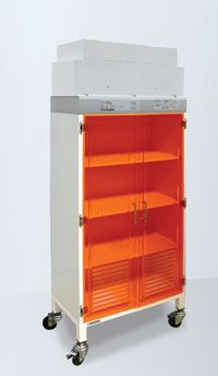 Polypropylene Cabinet With Filter/Blower