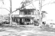 Florida Memory - Ray Hoppi's Hardware across from City Hall on Cocoa Avenue - Cocoa Beach, Florida