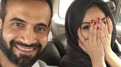 Irfan Pathan photo with Wife Sfa Islam Facebook troll. Sfa