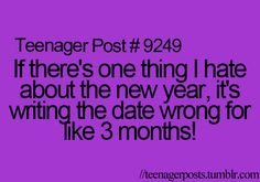 3 months!  More like until the next year and you finally get it right!