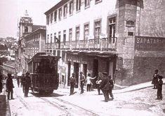Lisboa Antiga. Calçada do Combro 1913