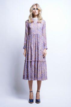 Rococo Tiered Dress - Time Machine | Karen Walker