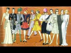 100 years of fashion in just 100 seconds / London Style - YouTube