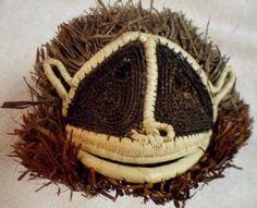 Wounaan Embera Chunga Mask Porcupine-Panama 16051325L