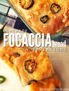 Focaccia+Bread+Recipe:+Our+Favorites+Homemade+Bread