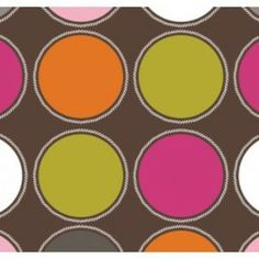 Jacqueline Savage Mcfee - Hot Chocolate - Big Dot in Brown