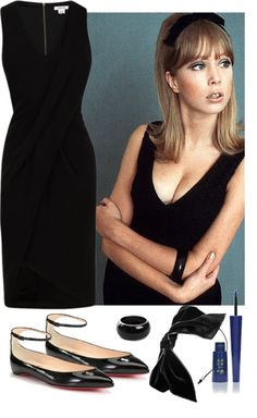 """Oh Pattie Boyd!"" by fashionjedis on Polyvore"