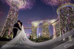 Incredible architecture, and amazing photo by Keda.Z photography! Pre Wedding Shoot Ideas, Pre Wedding Photoshoot, Bridal Shoot, Wedding Poses, Wedding Day, Photo Couple, Couple Shoot, Gardens By The Bay, Cool Photos