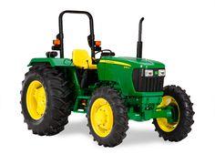 John Deere 5075E Utility Tractor 5E Series (45-75 hp) Utility ...
