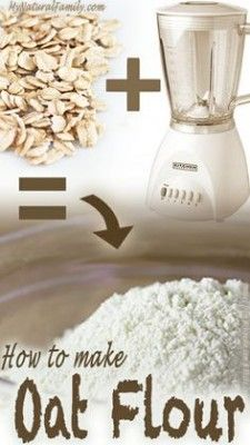 The Homestead Survival | How to Make Homemade Oat Flour | homesteading - Food…