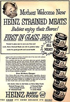 'Heinz Baby Food'- Wonderful A4 Glossy Print Taken from A…