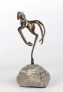 """Rossli"" - Bronze Sculpture by Sandy Graves"