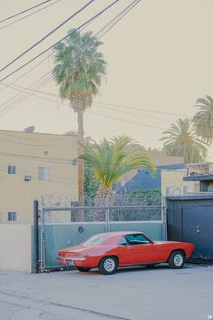 Pastel Pictures of Los Angeles