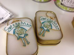 """Is Dad a """"SuperbMan?""""  He'll definitely be needing this fabulous keyring from Arthouse Meath."""