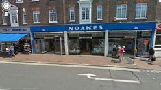 Noakes towards its final days of trading - it closed in 2009 after 144 years trading( They were originally in Calverley Road until Camden Road, Tunbridge Wells, Final Days, Street View, Wellness, Park, Projects, Log Projects, Blue Prints