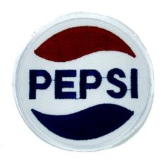 Pepsi Cola Patch Iron On Applique Alternative Clothing Vintage 80's Nostalgia