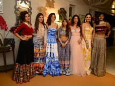 So, will you wear these to your wedding? The folks at Bridal Asia hosted high tea earlier this week to announce the dates of the first Bridal Asia Show in Mumbai. Anarkali, Saree, Sunidhi Chauhan, Indian Wear, Indian Beauty, Mumbai, Indian Fashion, Peacock, Globe
